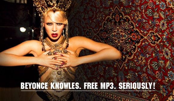 Beyonce Knowles 'End Of Time' Remix Competition. Free mp3. Seriously!
