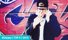 Gillepsy. Персональный TOP 5 за 2013.