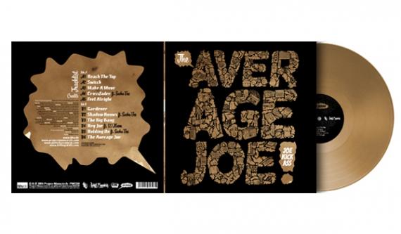 Joe Kickass 'The Average Joe' вышел 7 марта на Project: Mooncircle.