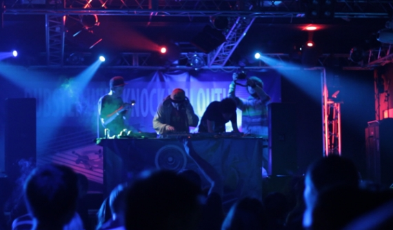 SLIN, BISWEED, Z JOHNNY live at Bass Exe Festival (Saint-Petersburg, Russia) in March 16, 2012